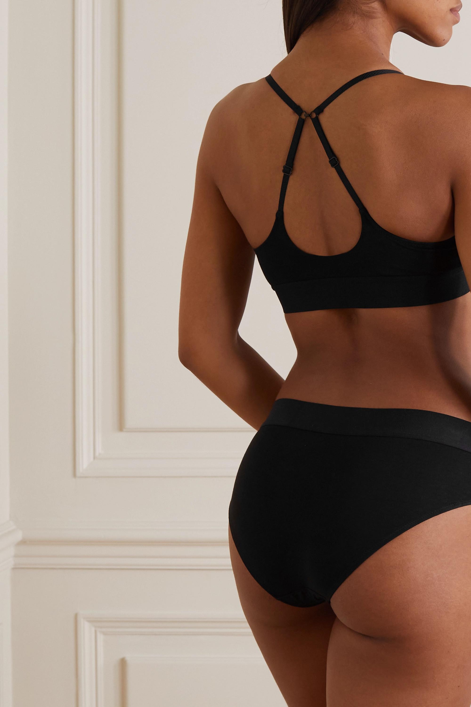 Skin + NET SUSTAIN Hadlee Triangel-BH aus Bio-Pima-Baumwolle mit Stretch-Anteil
