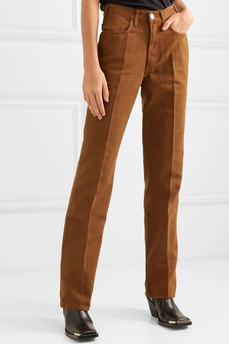 70s high-rise flared jeans