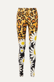 + 0 Richard Quinn bedruckte Stretch-Leggings