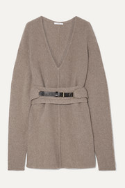 Co Oversized belted cashmere sweater