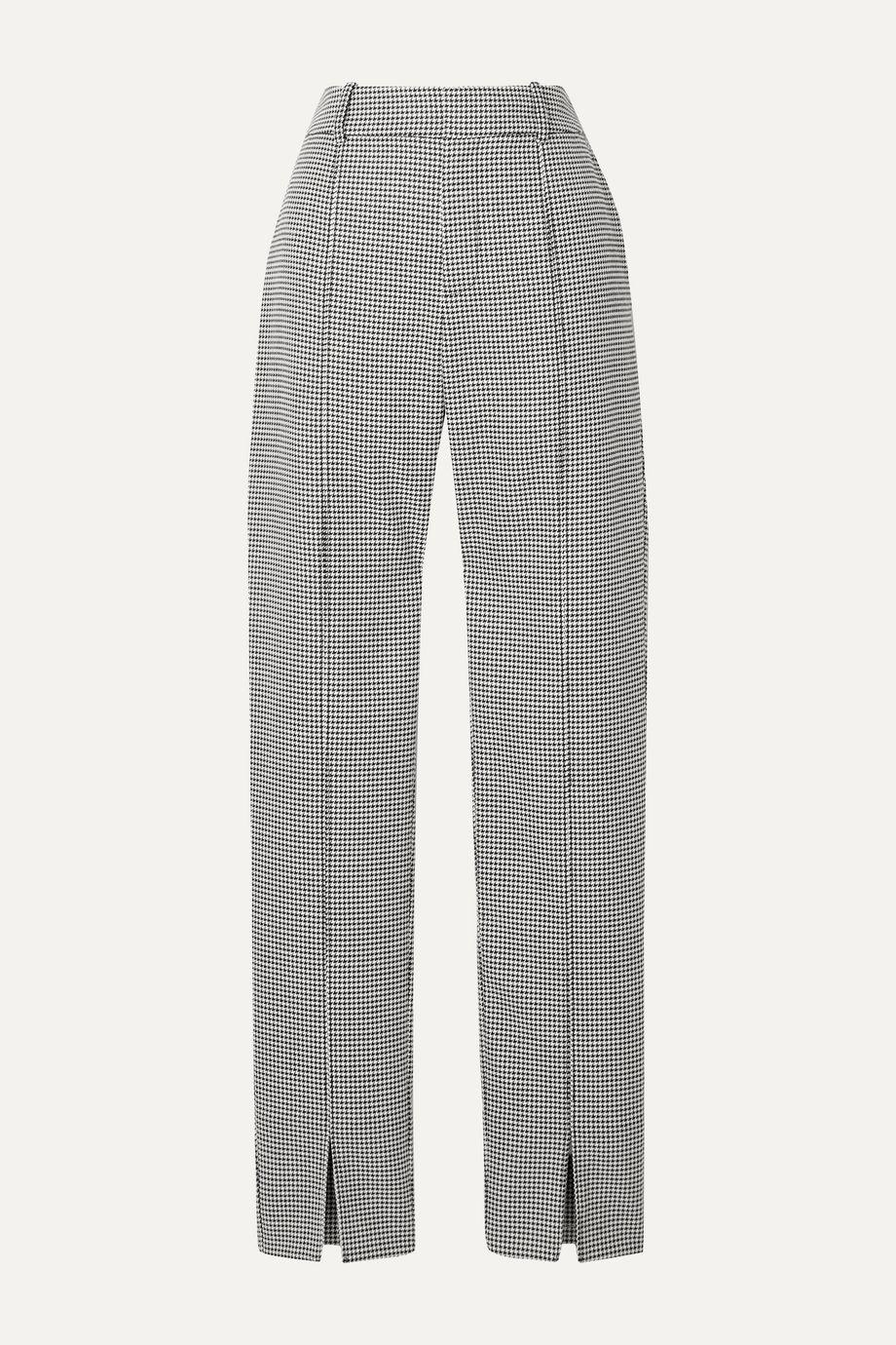 Jason Wu Houndstooth woven straight-leg pants