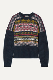 Jason Wu Fair Isle merino wool-blend sweater