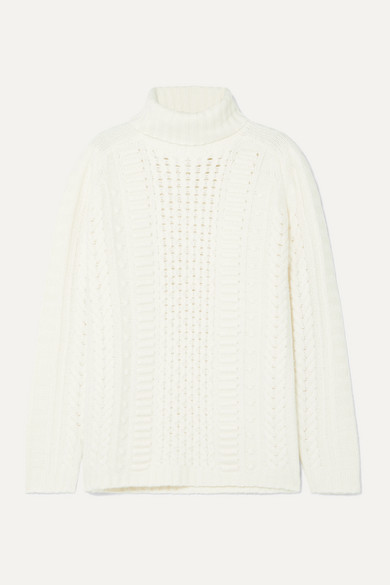 Jason Wu Tops Cable-knit turtleneck sweater