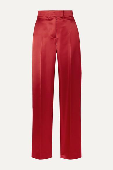 Helmut Lang Pants Satin straight-leg pants