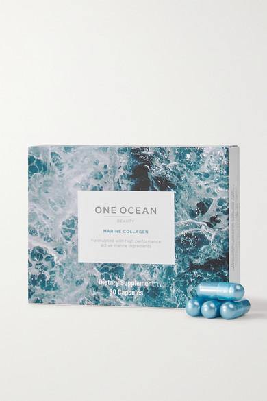 ONE OCEAN BEAUTY   One Ocean Beauty - Marine Collagen Supplement (30 Capsules) - one size   Goxip