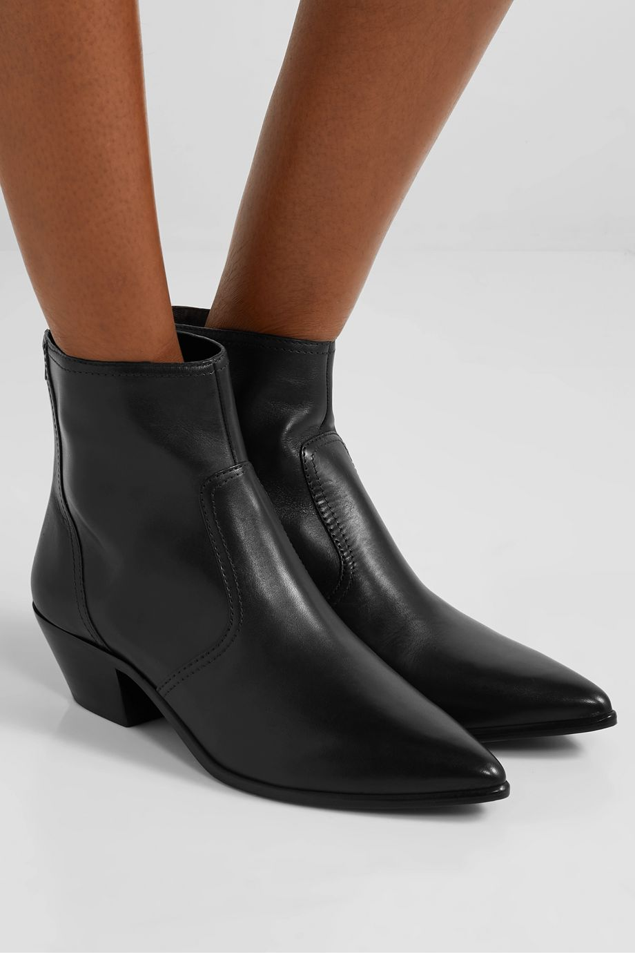 Loeffler Randall Joni leather ankle boots