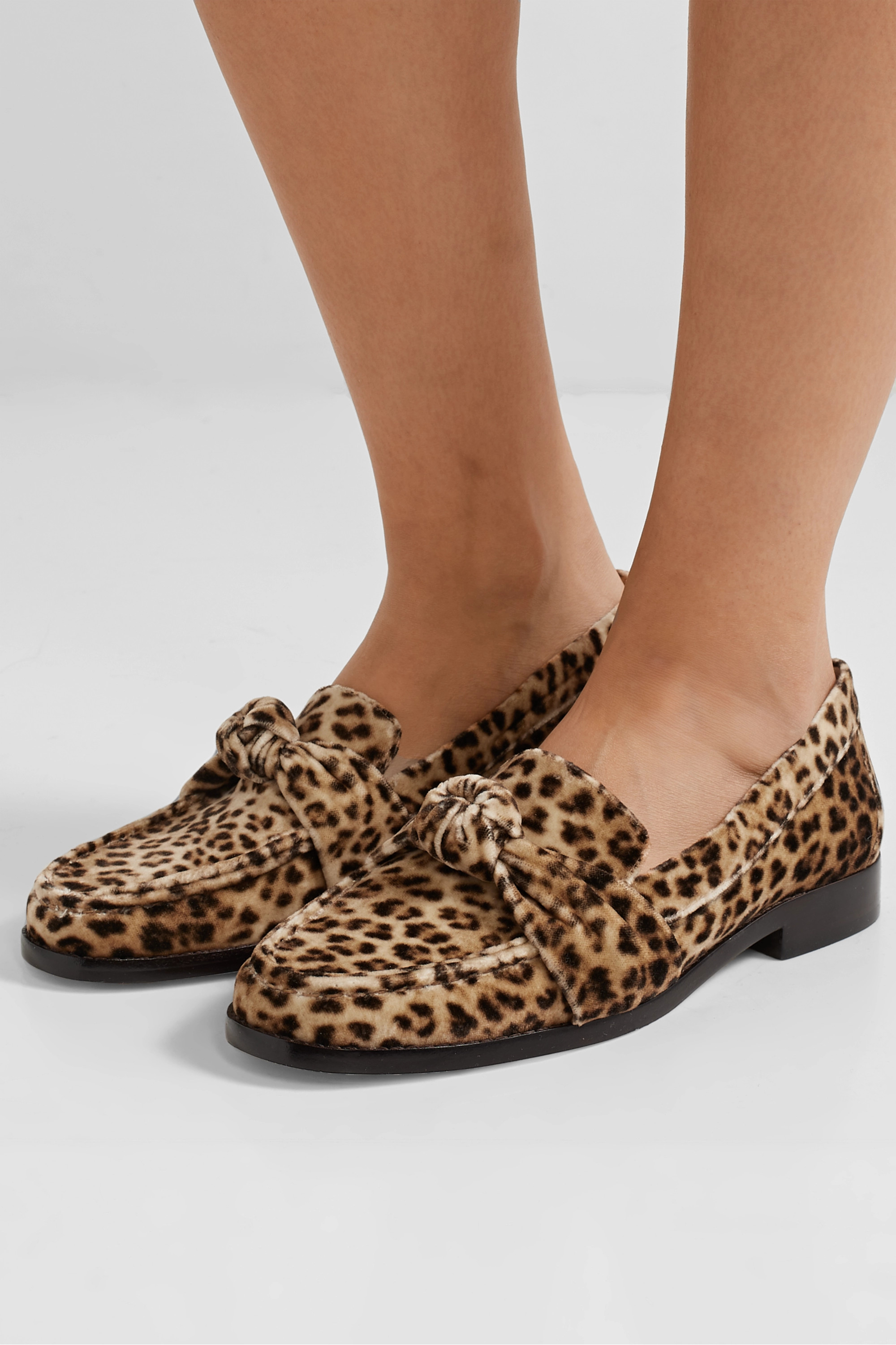 Leopard print Elina knotted leopard
