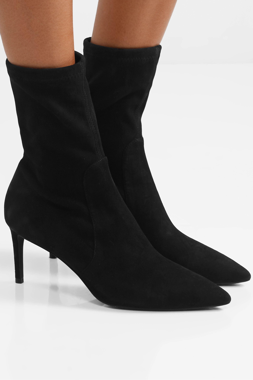 Black Wren suede ankle boots | Stuart