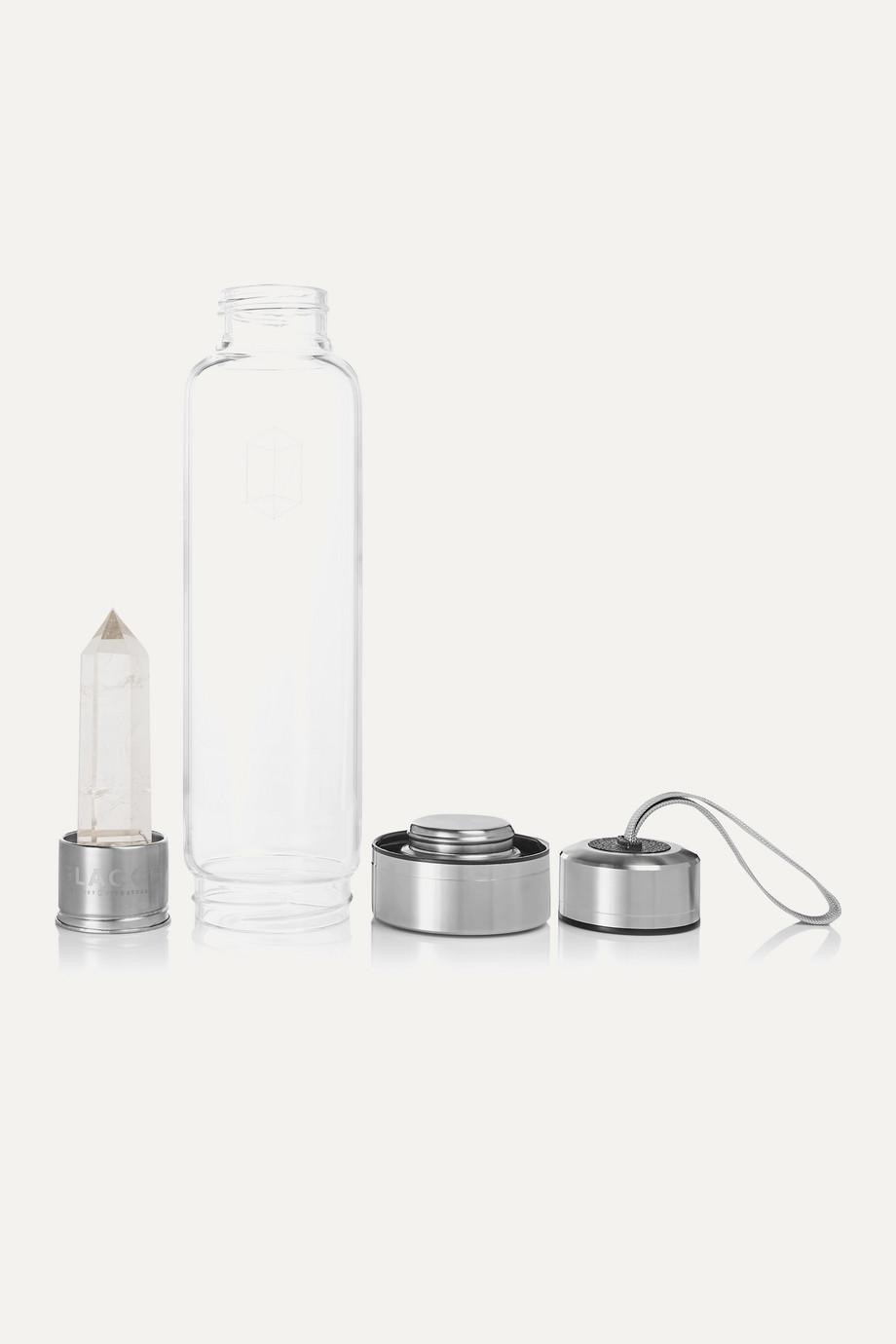 GLACCE Trinkflasche mit Bergkristall