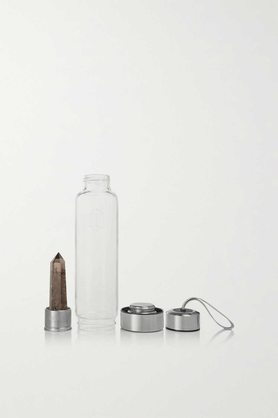 GLACCE Smoky Quartz Bottle