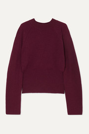 Arden ribbed-knit sweater