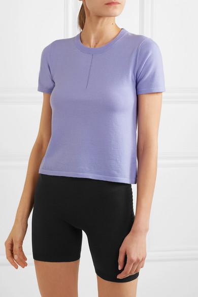 Nagnata | + NET SUSTAIN Trash merino wool-blend T-shirt