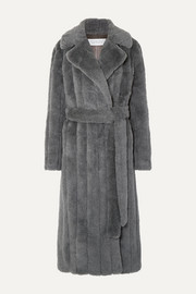 Gabriela Hearst Pavlovna belted wool, silk and cashmere-blend coat