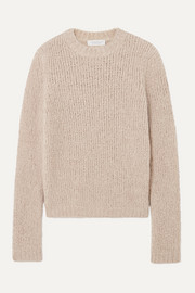 Gabriela Hearst Philippe cashmere and silk-blend bouclé sweater