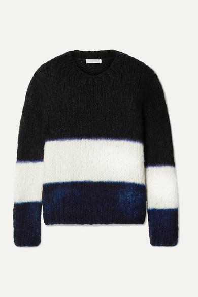 Gabriela Hearst Knits +NET SUSTAIN Lawrence striped cashmere sweater