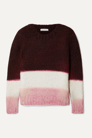 + NET SUSTAIN Lawrence color-block cashmere sweater