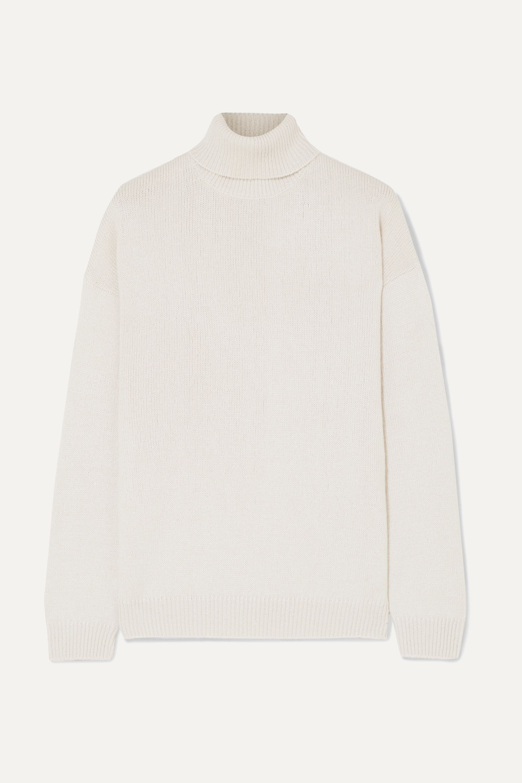 NWT BRUNELLO CUCINELLI Woman/'s Brown Cashmere Turtleneck Sweater Size s