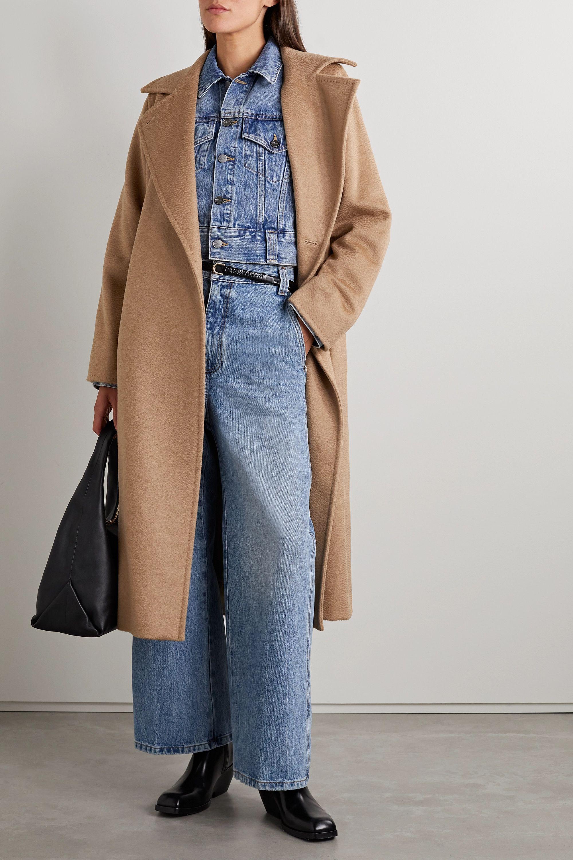 Max Mara Manuela Icon belted camel hair coat