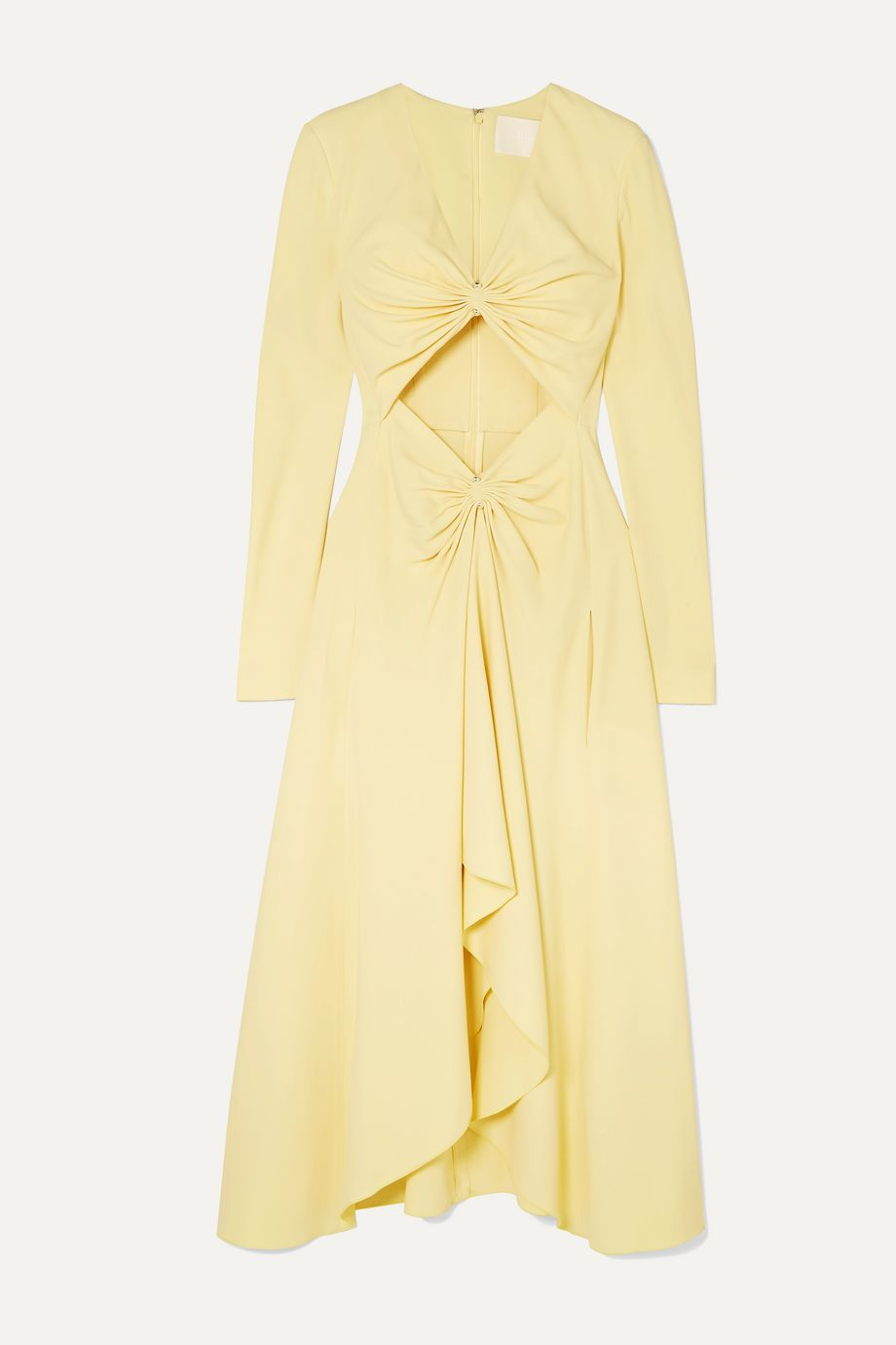 Dion Lee Embellished cutout cady midi dress