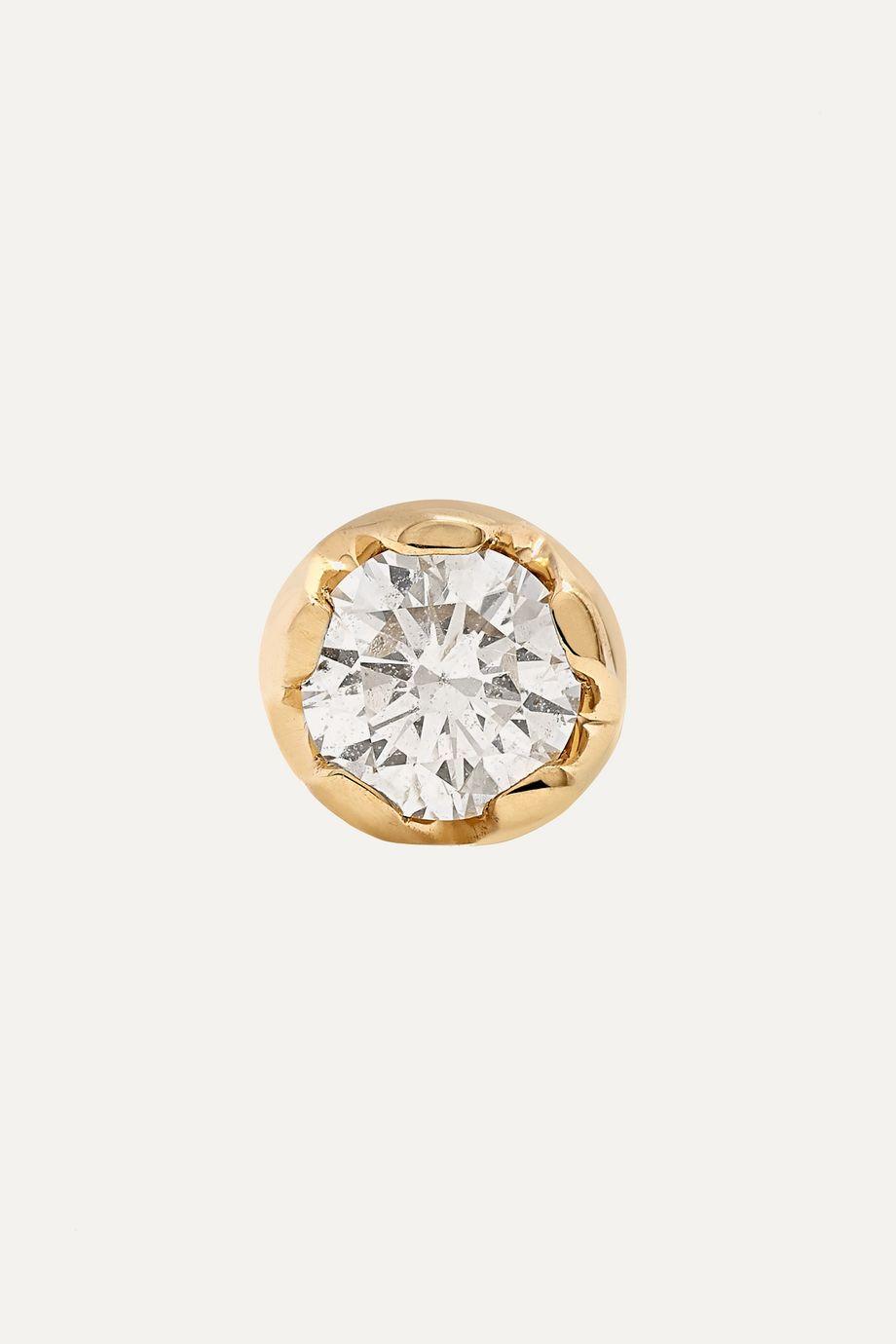 Andrea Fohrman 18-karat gold diamond earring