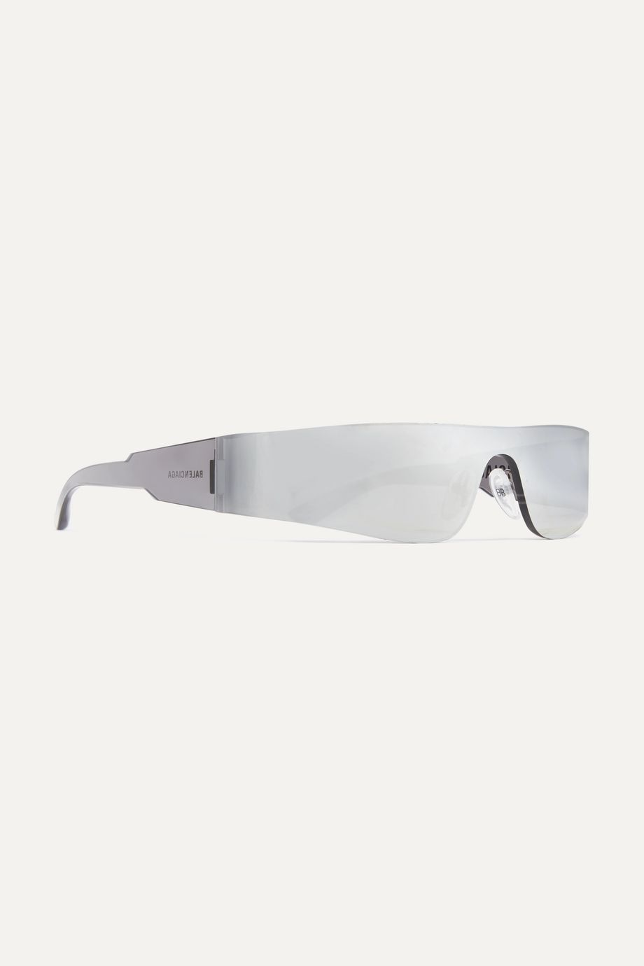 Balenciaga Square-frame acetate mirrored sunglasses