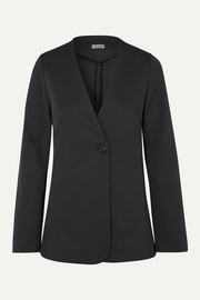 Dakota stretch-cady blazer