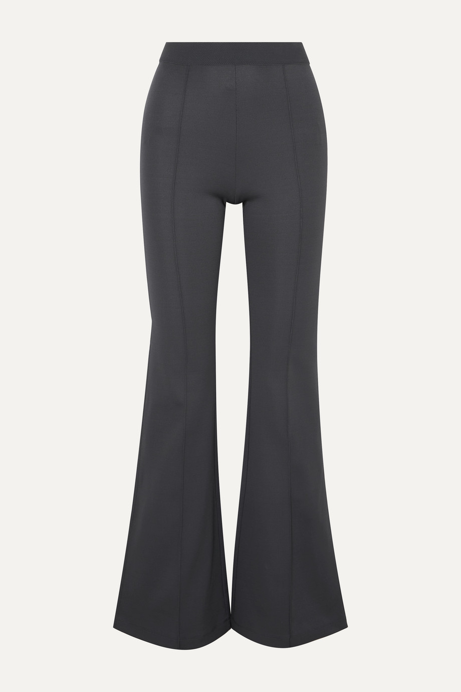 Exact Product: Selena Gomez Rust Straight Fit Trousers Street Style Autumn Winter 2020, Brand: Gauge81, Available on: net-a-porter.com, Price: $243