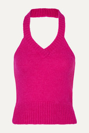 GAUGE81 Bursa knitted halterneck top