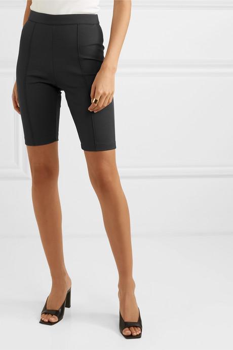 Stretch-cady shorts