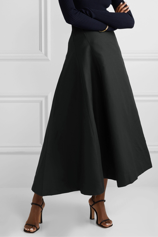 BITE Studios Organic linen and cotton-blend maxi skirt