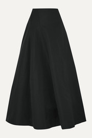 BITE Studios Organic linen and cotton-blend maxi skirt