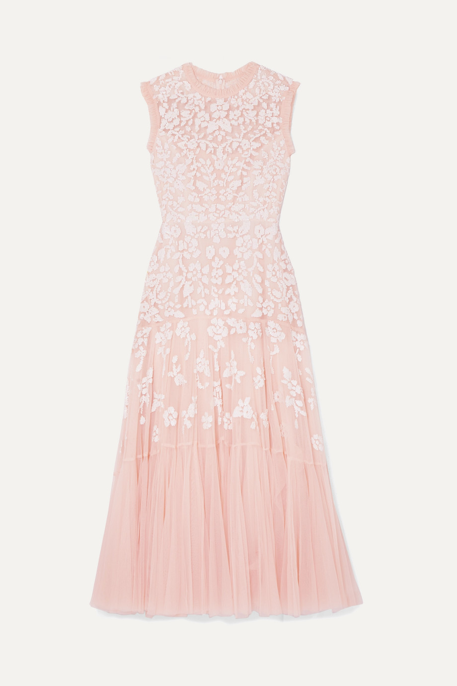 Needle & Thread Bella embellished tulle midi dress