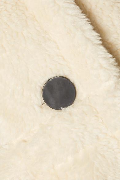 Sea Coats Sonnet oversized hooded faux shearling coat