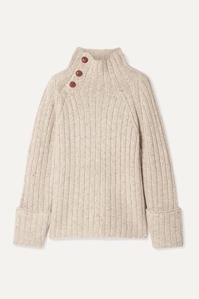 Rag & Bone Sweaters KLARK RIBBED WOOL-BLEND TURTLENECK SWEATER