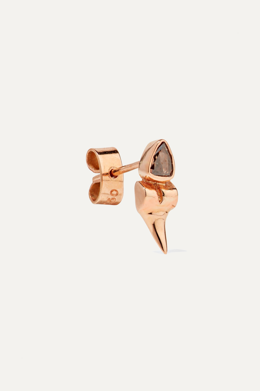 Dezso by Sara Beltrán 18-karat rose gold diamond earrings