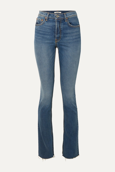 Addison High Rise Straight Leg Jeans by Grlfrnd