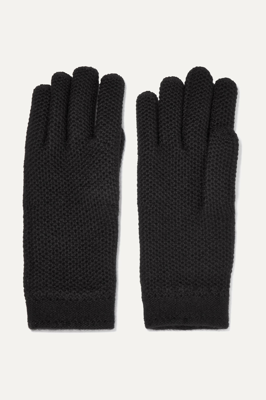 Loro Piana Handschuhe aus gehäkeltem Kaschmir