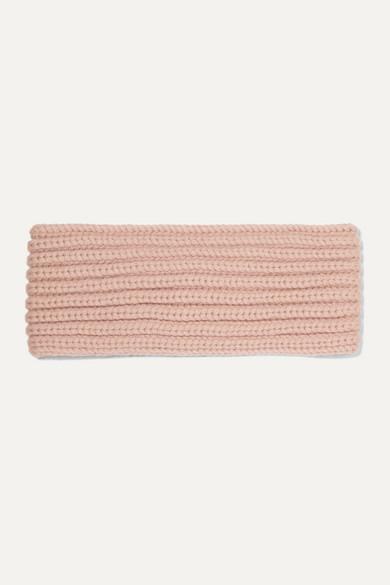 ribbed-cashmere-headband by loro-piana