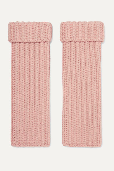 ribbed-cashmere-wrist-warmers by loro-piana