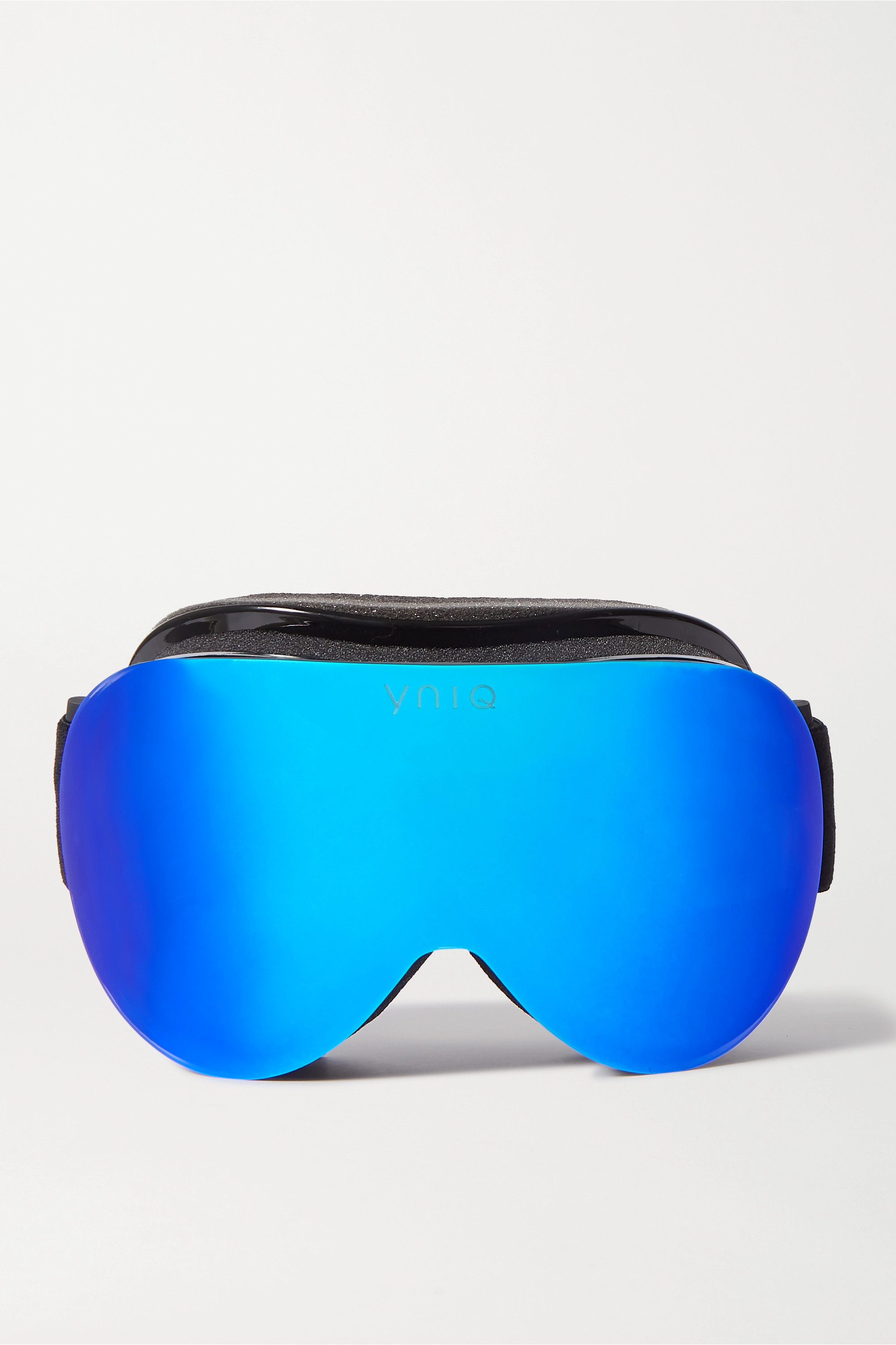 YNIQ Model Two mirrored ski goggles