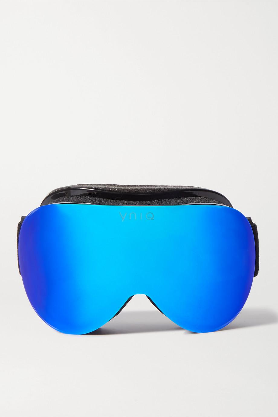 YNIQ Model Two mirrored ski googles