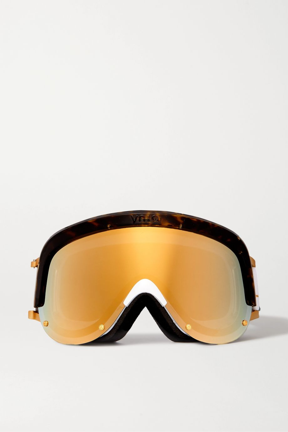 YNIQ Model One mirrored ski goggles
