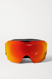 YNIQ Model Nine mirrored ski goggles