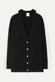 Jasper cable-knit cashmere cardigan