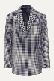 Wright Le Chapelain Checked wool blazer