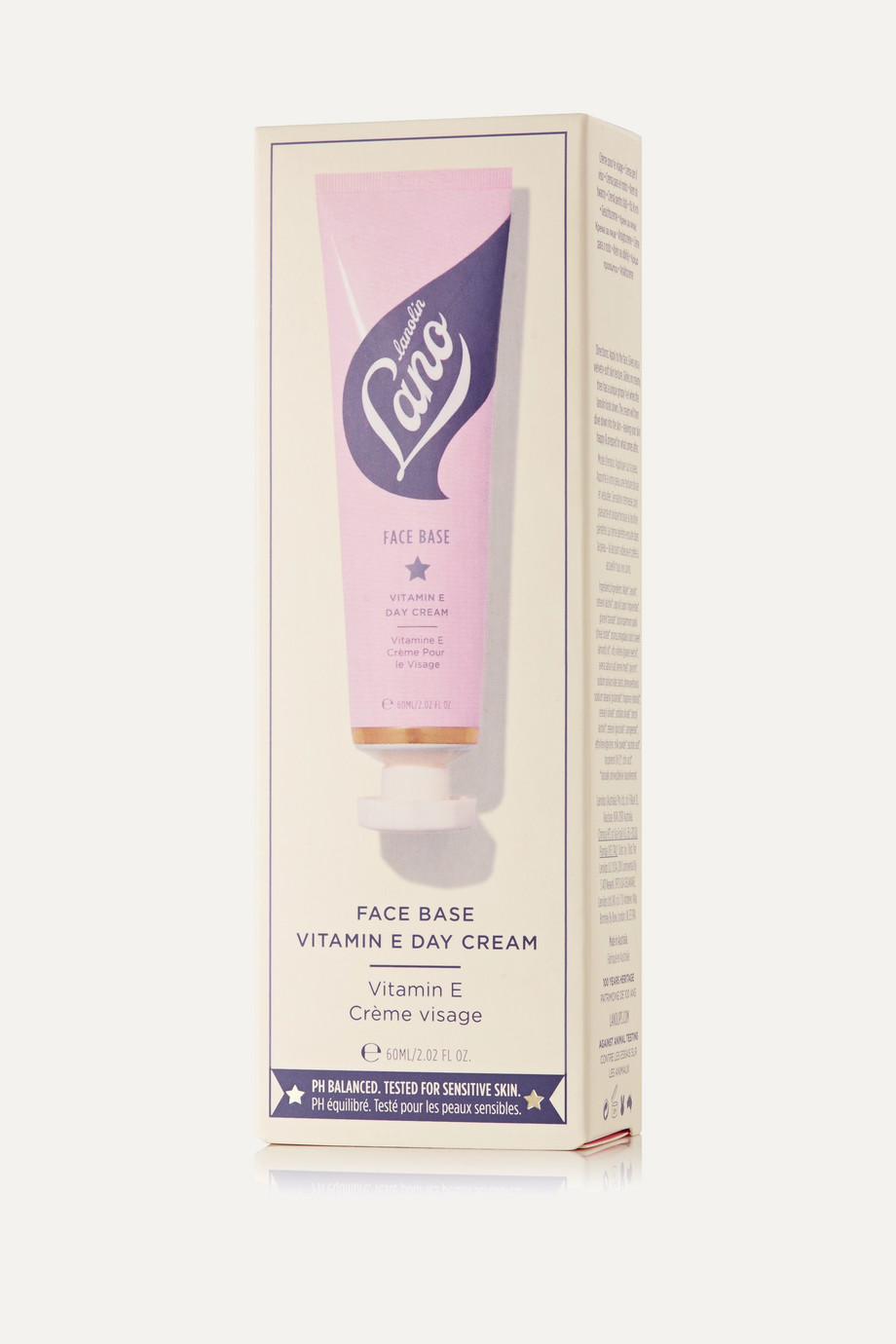 Lano - lips hands all over Face Base Vitamin E Day Cream, 60ml