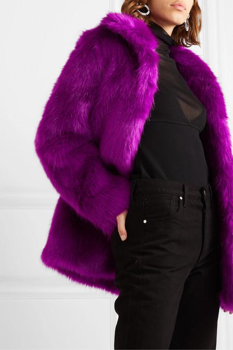 Kate faux fur coat