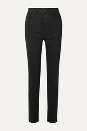 Beatnik high-rise slim-leg jeans