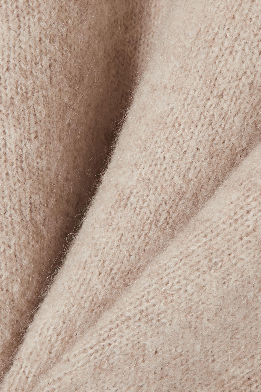 Totême Biella oversized knitted sweater