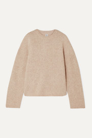 Totême Biella oversized knitted sweater
